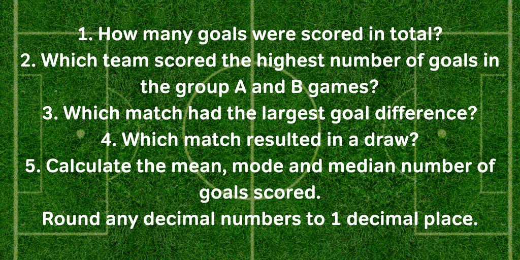 2014 World Cup Football Maths Question