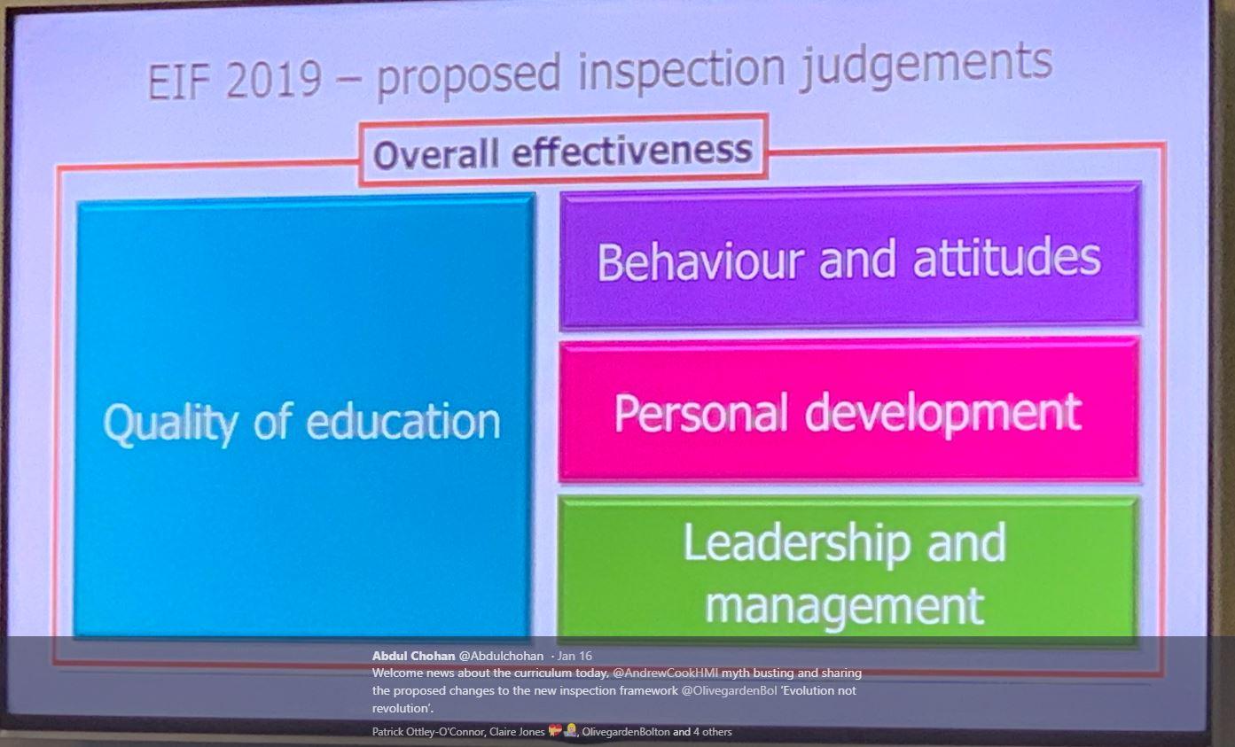 @AndrewCookHMI delivered a Myth Busting presentation about the 2019 Draft Framework