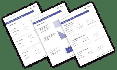 Factorising (mixed) worksheet